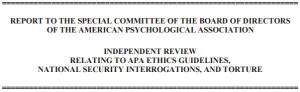 Hoffman Report for APA