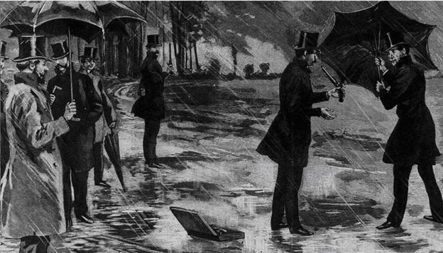 German duel in 1830 (public domain, PD-1923)