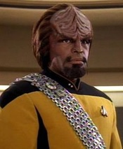 Worf, from Wikipedia