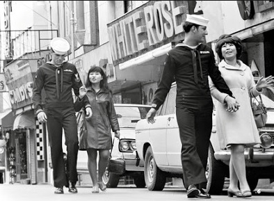 American military with Japanese girlfriends